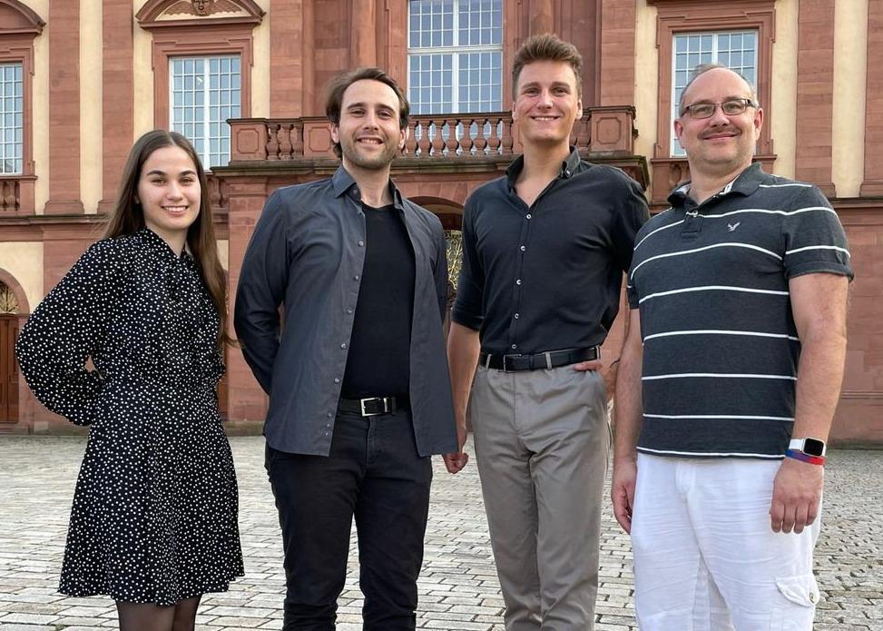 Der aktuelle Vorstand der Mannheim Debating Union